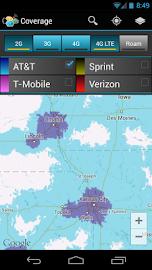 CellMaps Mobile Coverage Screenshot 2