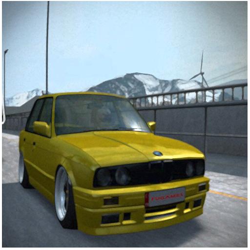 BMW E30 주차 게임