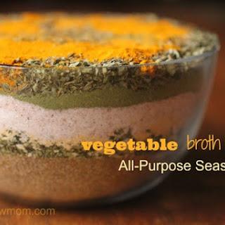 Vegetable Broth Mix Recipe | All-Purpose Seasoning
