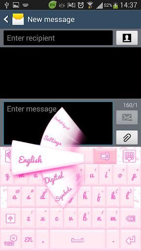 GO输入法可爱的粉色