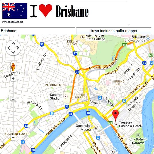 Brisbane maps