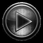 Poweramp skin STEEL OF I. GREY icon