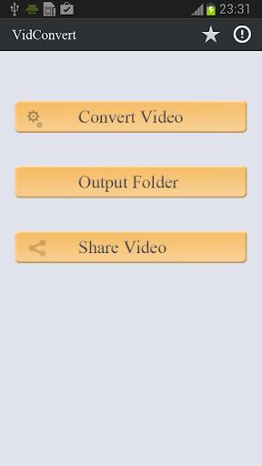 VidConvert ARMV6 Codec