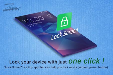 ZERO Lock Screen 1.2 screenshot 27846