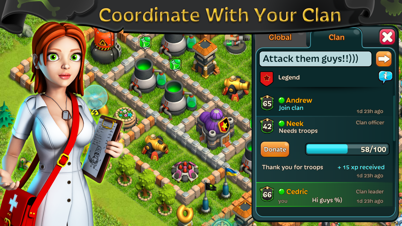 Battle of Zombies: Clans MMO - screenshot