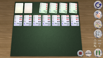 Screenshot of Solitaire Planet
