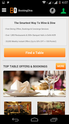 Booking Diva Restaurant Offers