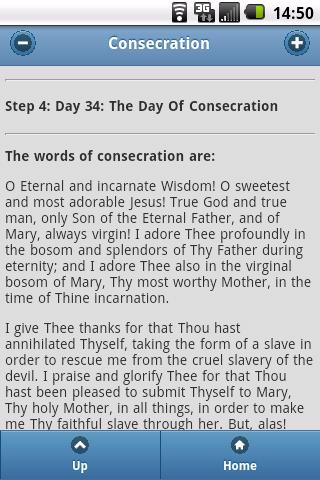 Consecration To Mary - screenshot