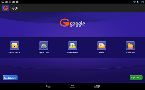 Gaggle- screenshot thumbnail