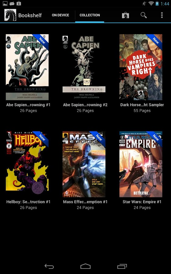 Dark Horse Comics - screenshot