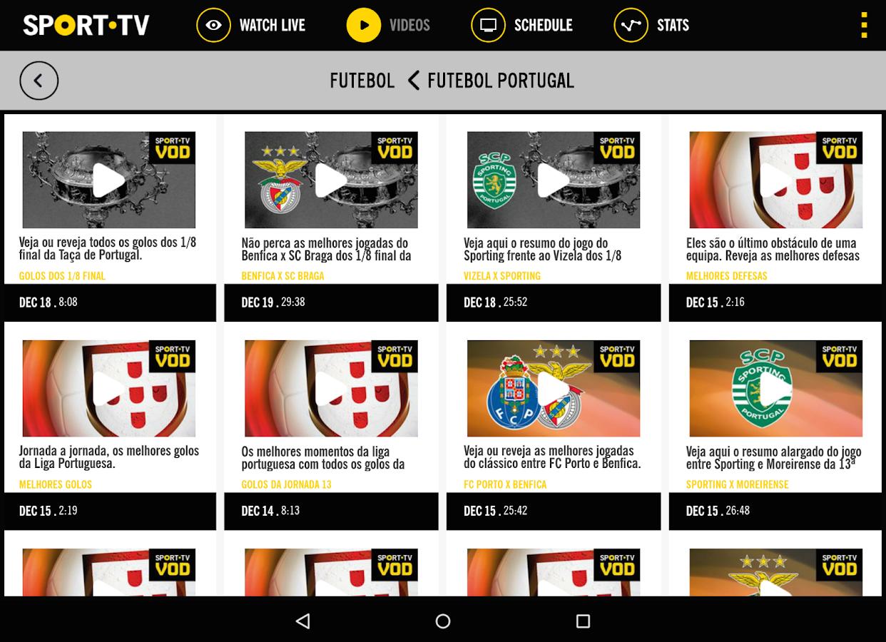 SPORT TV Multiscreen- screenshot