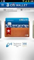 Screenshot of 3 Citi Wallet