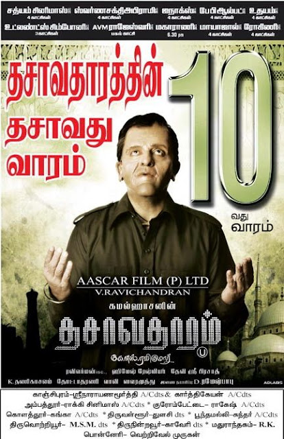 Kamal HaasaR's Record-Breaking BO Benchmark Dasavatharam 10