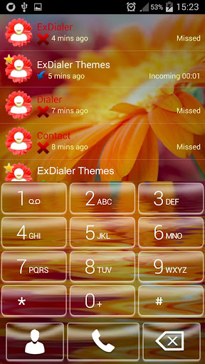 ExDialer Flower