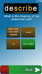 Vocable: Free Vocabulary Tutor - screenshot thumbnail