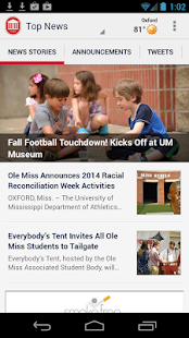 The Official Ole Miss App- screenshot thumbnail
