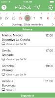 Screenshot of Futbol TV