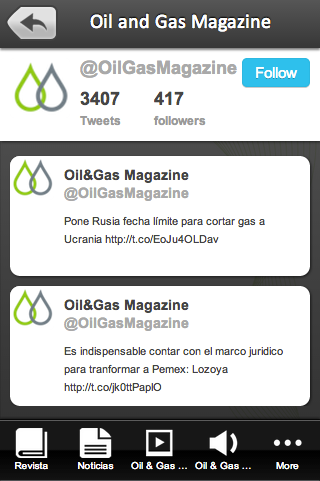Oil and Gas Magazine- screenshot
