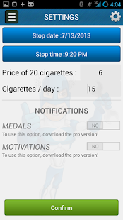 Stop Smoking - screenshot thumbnail