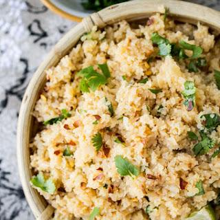 """Asian Cauliflower """"Rice""""."""