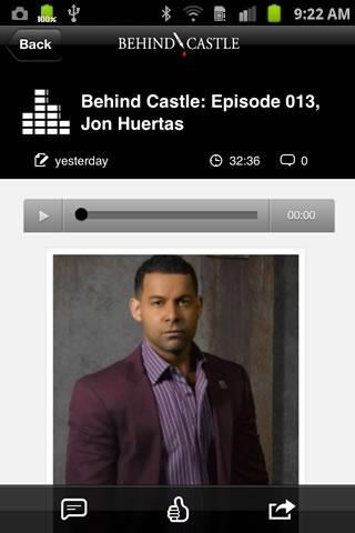 Castle TV App - Behind Castle - screenshot