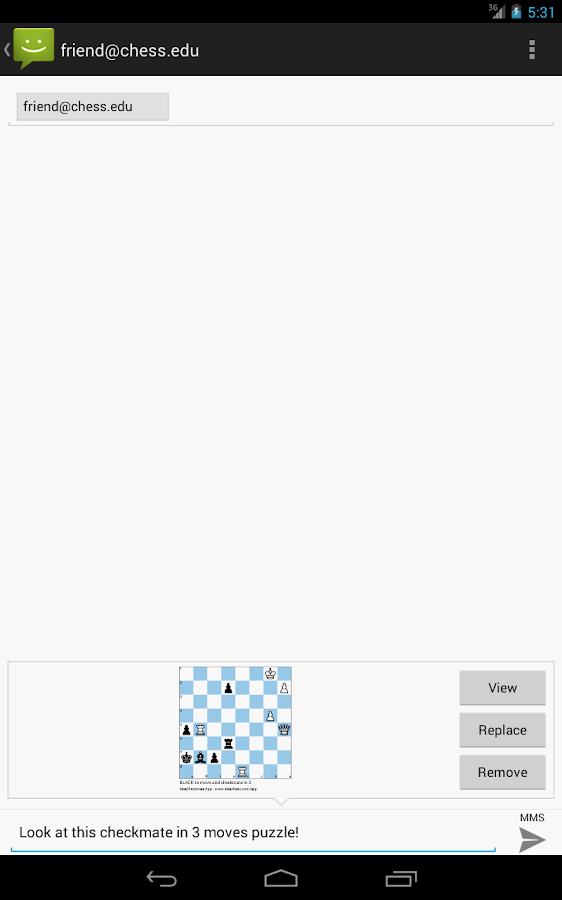 Checkmate chess puzzles 3- screenshot