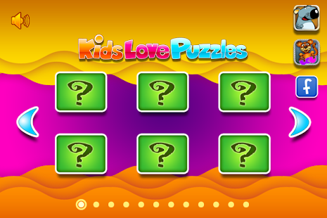 Kids Love Puzzles- screenshot thumbnail