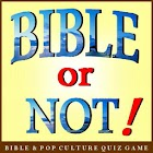 Bible or Not Bible Quiz Game icon