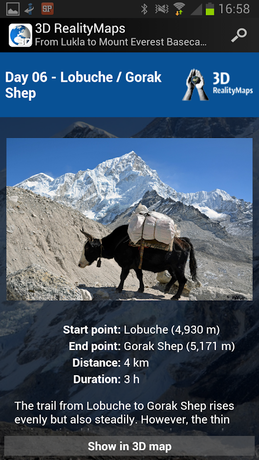 Mount Everest 3D - screenshot