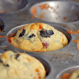 Smoked Mozzarella & Sage Pumpkin Muffins