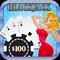 Marylin Offline Free Blackjack icon