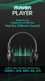 MAVEN Music Player (3D Sound) - screenshot thumbnail