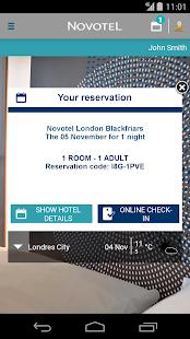 Novotel Hotels - screenshot thumbnail
