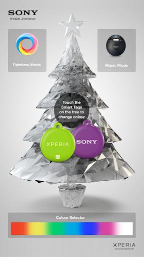 Xperia NFC Xmas Tree