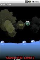 Screenshot of Alien Splash
