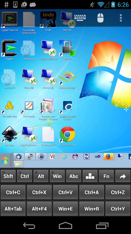 Remote Desktop Client - screenshot