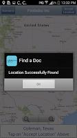 Screenshot of Findadoc Inc