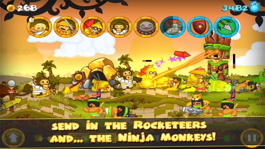 Swords and Soldiers screenshot #3