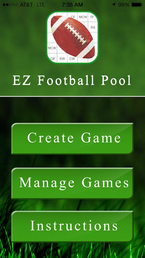 football pool
