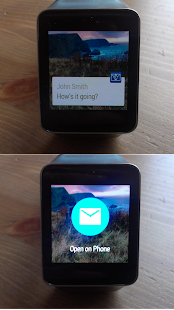 WearMail for Android Wear - náhled