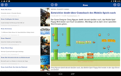 GameStar News- screenshot thumbnail