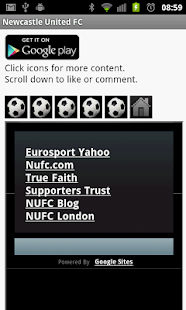 Newcastle United FC News - screenshot thumbnail