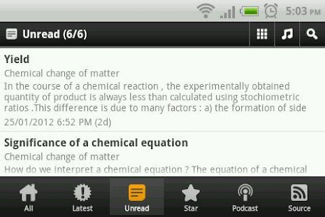Chemical Change of Matter - screenshot thumbnail