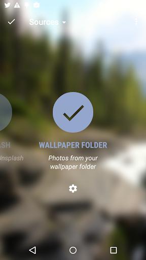Folder for Muzei