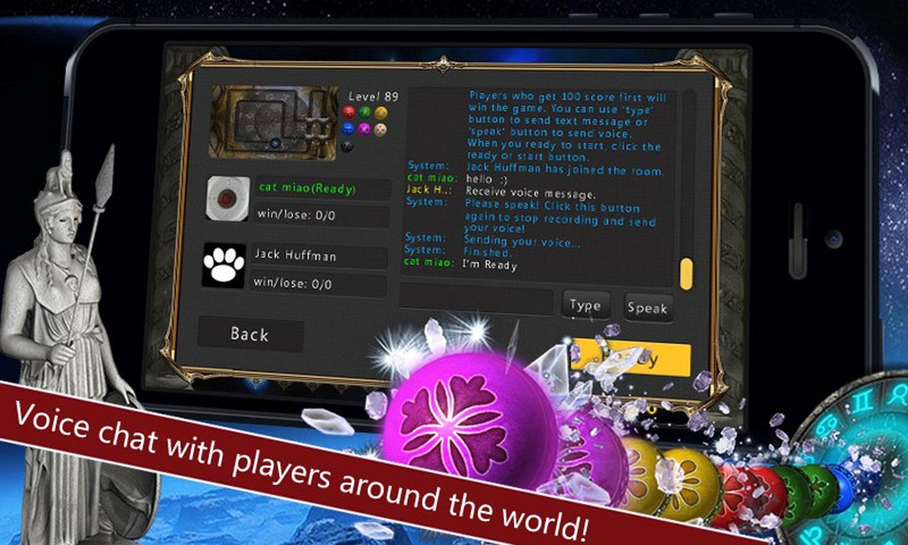Marble Blast - Zodiac Online - screenshot