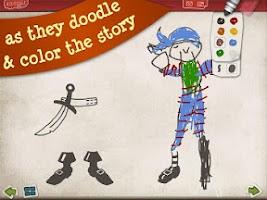 Screenshot of Pirate Scribblebeard - Draw