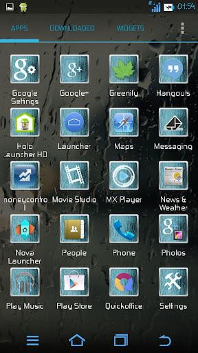 玩免費個人化APP|下載Rainy Icons (Apex/Nova/Go) app不用錢|硬是要APP