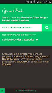 Green Book Directory - screenshot thumbnail