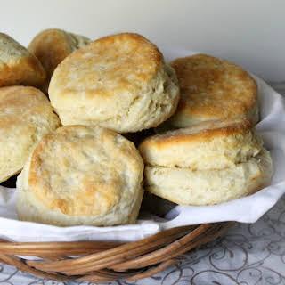 Homemade Freezer Biscuits.