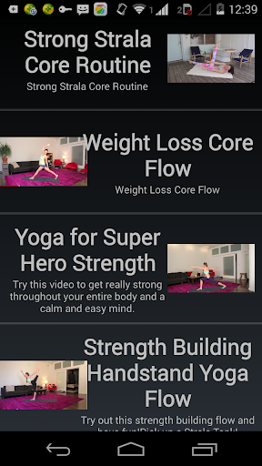 瑜伽教學視頻